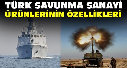 Türk savunma sanayi özellikleri