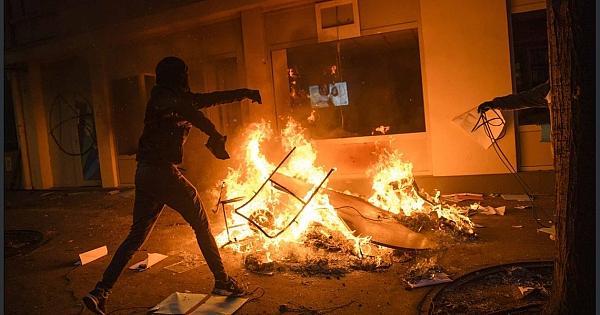 Fransa'da protestolardan iç savaşa