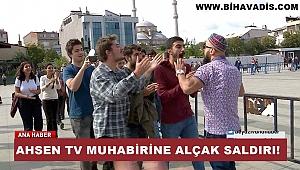Ahsen Tv Muhaberini Böyle Dövdüler.