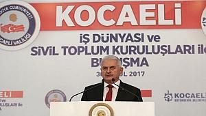 Başbakan Yıldırım Kocaeli'de konuştu