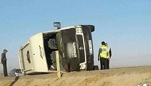 Şanlıurfa'nın Suruç ilçesinde meydana gelen trafik kazasında 5 kişi yaralandı.