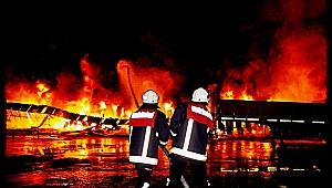Mersin Tarsus'ta Korkutan Yangın