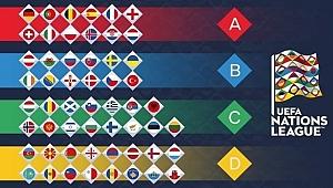 Uluslar Ligi'nde Gruplar Belli Oldu