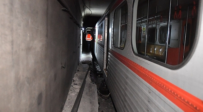 Ankara Metro'da Kaza