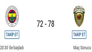Fenerbahçe Final Four'u deplasmana bıraktı