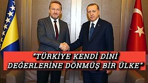 """""""Erdoğan İle Dostluğumuz Babam Aliya'dan Miras"""""""