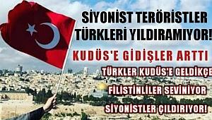 Siyonistler Engellere Rağmen Türkiye'den Kudüs'e Ziyaretler Artıyor!
