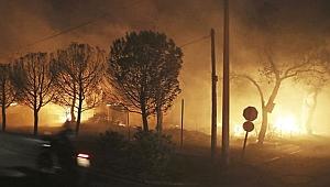 Yunanistan'da yangın : 50 kişi öldü, 150 kişi yaralandı
