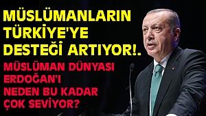 İslam alemi Türkiye'nin yanında