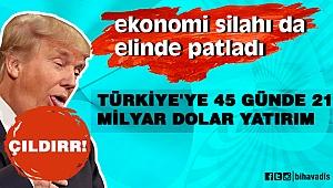 Türkiye'ye 45 günde 21 milyar dolar yatırım