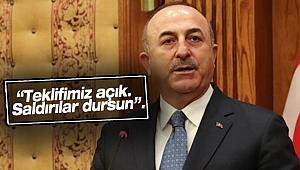 Bakan Çavuşoğlu'ndan flaş çağrı