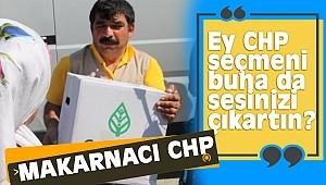 CHP, makarna dağıtma çalışmalarına hız verdi