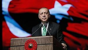 """Erdoğan, """"Bu ülkede bundan sonra Türk lirası geçer."""""""
