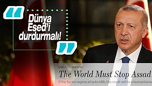 Erdoğan'dan, Wall Street Journal'a makale