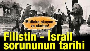 Filistin - İsrail sorununun tarihi
