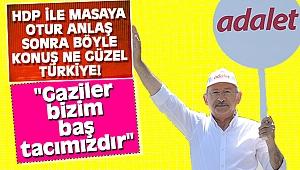 Kemal Kılıçdaroğlu gaziler ile bir araya geldi
