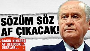 MHP af teklifini açıkladı Bakın Kimlere Af Gelecek