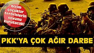 PKK'ya çok ağır darbe