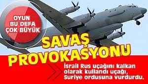Rusya'dan flaş açıklama: Uçağımıza İsrail sebep oldu Suriye Ordusu vurdu
