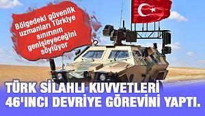 Türkiye sınır hattı ve 46. devriye