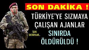 Türkiye'ye sızma girişimindeyken hepsi paketlendi