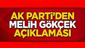 AK Parti'den dikkat çeken Melih Gökçek açıklaması