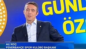 """Ali Koç:""""Fenerbahçe 7-8 haftalık kulüp değil"""""""
