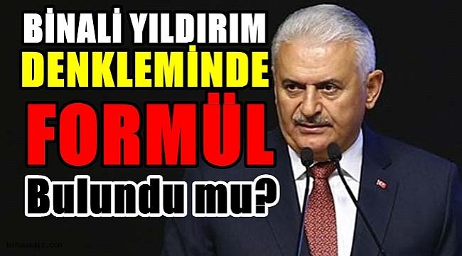 Binali Yıldırım'ın İstanbul Adaylığı Olacak mı? Bulunan Formül Ne?