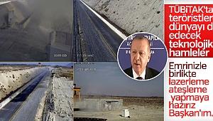 Işın Projesi testi Erdoğan başkanlığında gerçekleştirildi