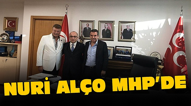 Nuri Alço MHP'yi ziyaret etti