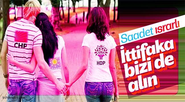 Saadet Partisi, CHP-İP-HDP ittifakına bizi de al diyor