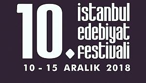10. İstanbul Edebiyat Festivali 10 Aralık'ta Başlıyor