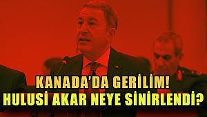 Hulusi Akar'ı Sinirlendiren Olay!