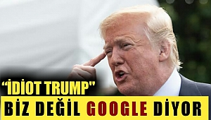 """İdiot Trump"" Diyorlar"