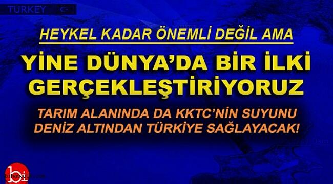 KKTC'nin Tarım Sulama Suyu Türkiye'den