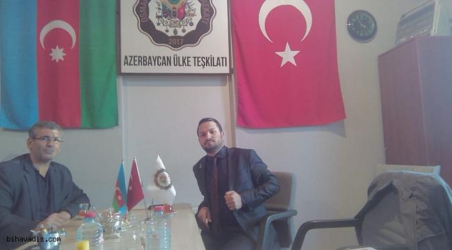 TURABİ BAŞKAN AZERBEYCAN'DA .!