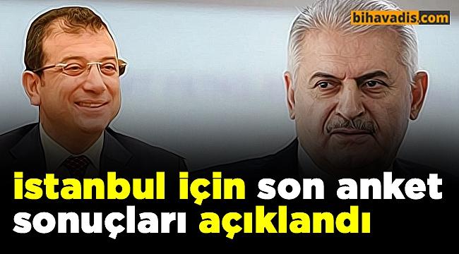 istanbul için son anket sonuçları açıklandı