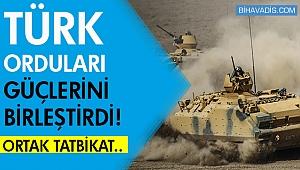 Türkiye ve Azerbaycan ordusundan ortak tatbikat