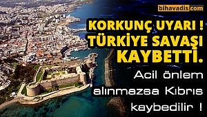 Türkiye'nin dikkat etmesi lazım yoksa kıbrıs'ı kaybederiz