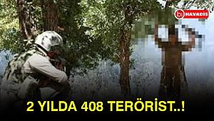 408 terörist ikna ile teslim oldu...