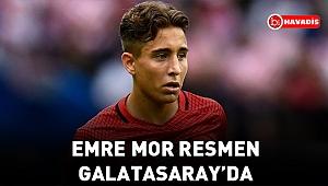Emre Mor resmen Galatasaray'da