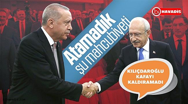 Erdoğan ve Kılıçdaroğlu birbirlerine bakmadan tokalaştı