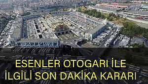 Esenler Otogarı'nın Devri Mahkeme Kararıyla Durduruldu