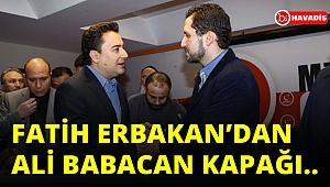 Fatih Erbakan'dan Ali Babacan kapağı..cevap verin lan