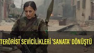 Fransızların terörist sevicilikleri 'sanata' dönüştü. YPG için film yaptılar...