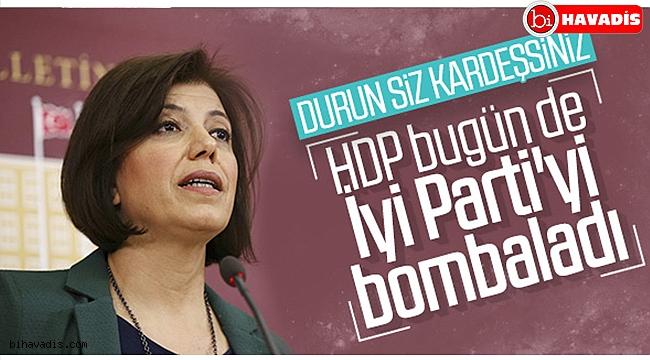 HDP-İyi Parti gerilimi devam ediyor
