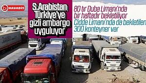 S.Arabistan'a giden tırlar geçiş yapamadı