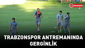 Trabzonspor antrenmanında gerginlik yaşandı. Ünal Karaman fırça attı, Yusuf Yazıcı sitem etti