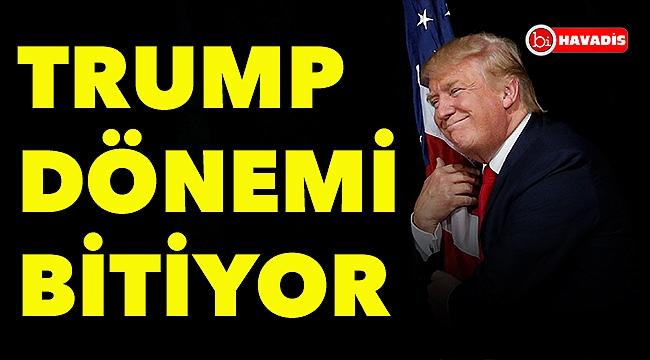 Trump dönemi bitiyor