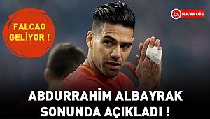 Abdurrahim Albayrak sonunda açıkladı !